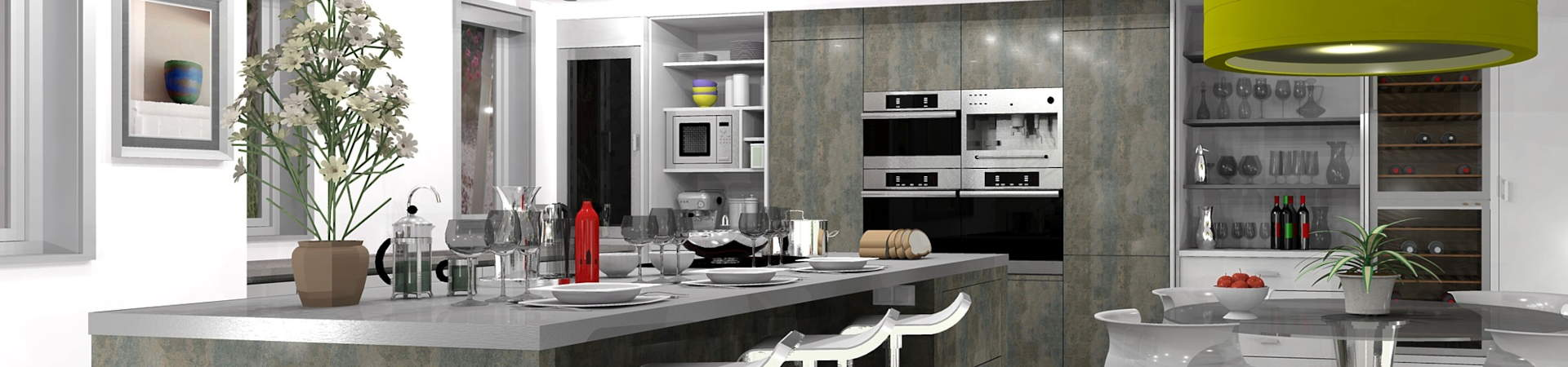 We have the right kitchen design software solution for everyone: with autokitchen, cabinet manufacturers get detailed lists about every cabinet, including the reference number, pulls, doors, etc.