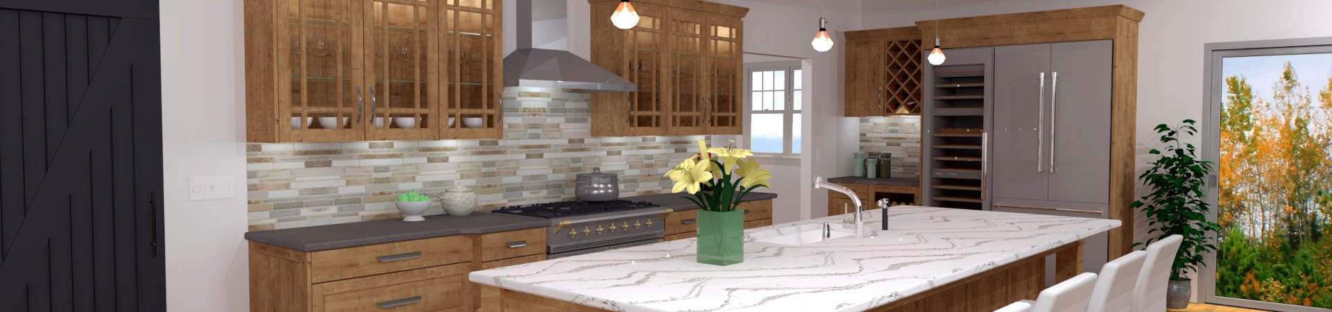 We have the right kitchen design software solution for everyone: for your kitchen showroom, autokitchen is the ideal tool for selling kitchen cabinets and designs.